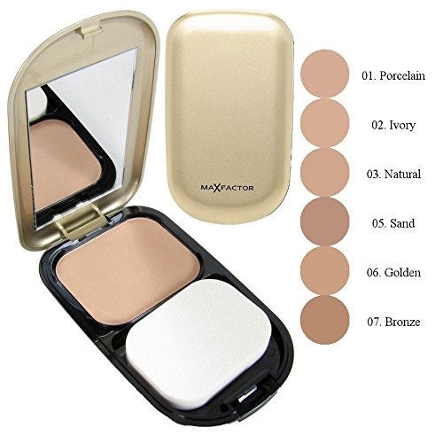 (Max Factor Facefinity Compact Foundation 10g - 05 - Sand)