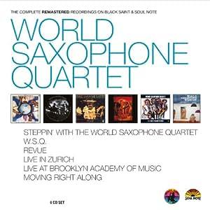 World Saxophone Quartet - Complete Recordings on Black Saint