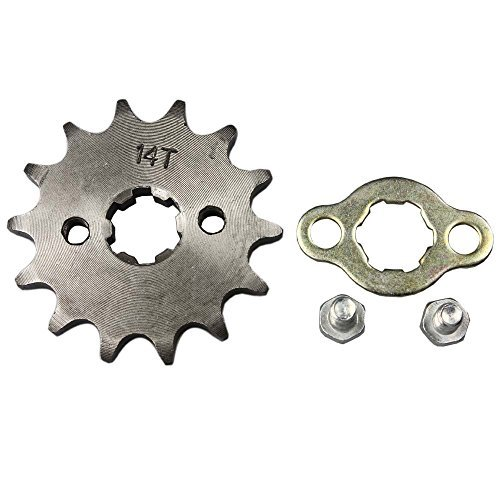 Wingsmoto Sprocket Front 428-14T 17mm Motorcycle ATV Dirtbike