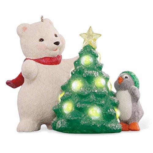 Snowball and Tuxedo Christmas Tree Ornament 2015 - Snowball Ornament