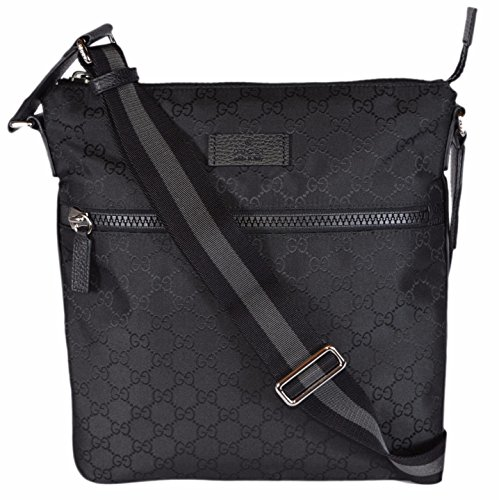Guccissima Nylon Messenger Bag Medium - 1