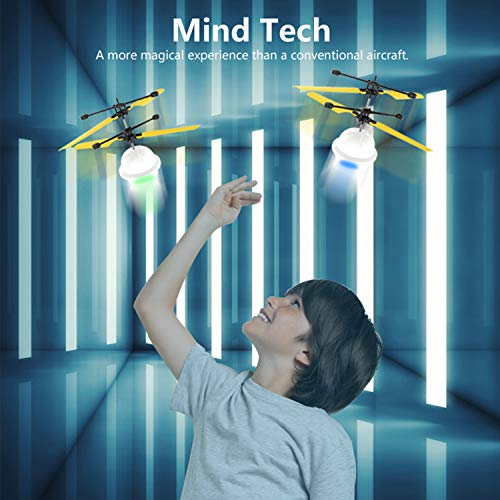 Diditech Mind Sensor Flying Ball Infrared Induction Flying Toy Attention Training Plane DIY Helicopter for Ten Year Old and Above by Diditech (Image #1)