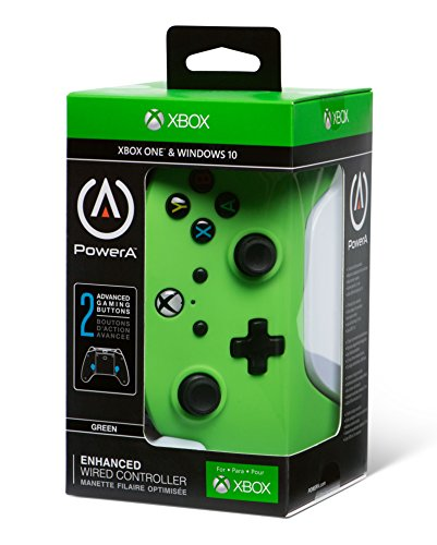 PowerA Enhanced Wired Controller for Xbox One - Green 9