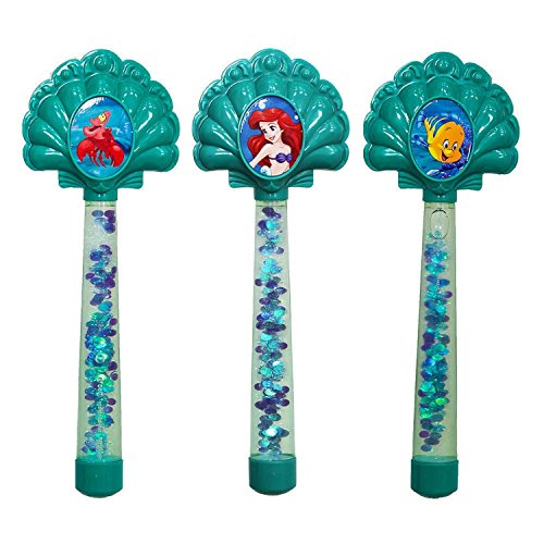 Set o (Disneys The Little Mermaid Ariel Wand)