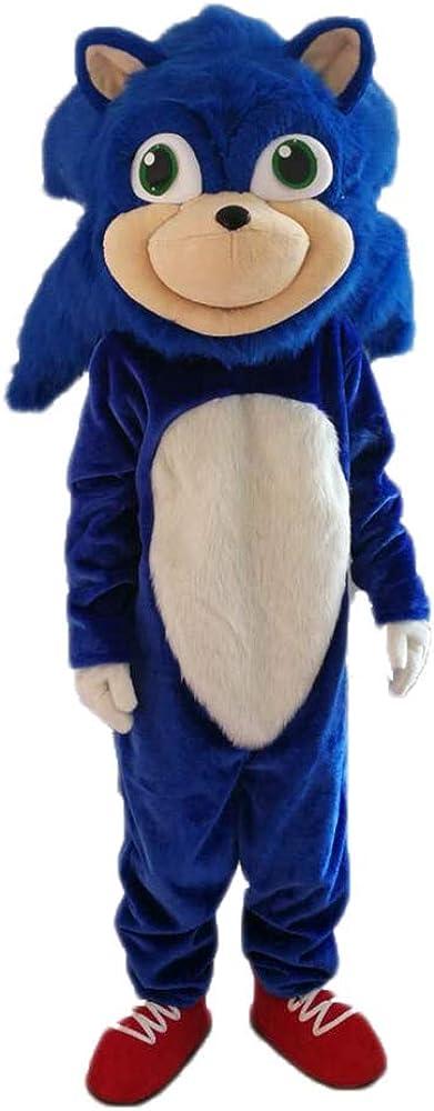 ARISMASCOTS Disfraz de Erizo para Adulto de Sonic X Hedgehog ...