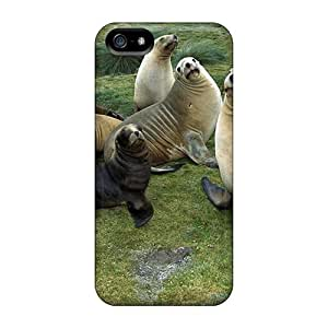 Premium Durable Animals Seals Fashion Iphone 5/5s Protective Cases Covers