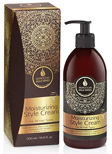 - Moroccan Gold Series Argan Moisturizing Style Cream 500ml