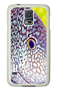 Samsung S5 case slim cases Deep-sea Fish PC White Custom Samsung Galaxy S5 Case Cover