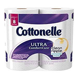 Ratings and reviews for Cottonelle Ultra Comfort Care Toilet Paper, Double Roll Economy Plus Pack, 32 Count
