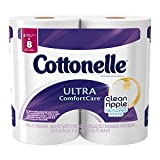 #10: Cottonelle Ultra Comfort Care Toilet Paper, Double Roll Economy Plus Pack, 32 Count