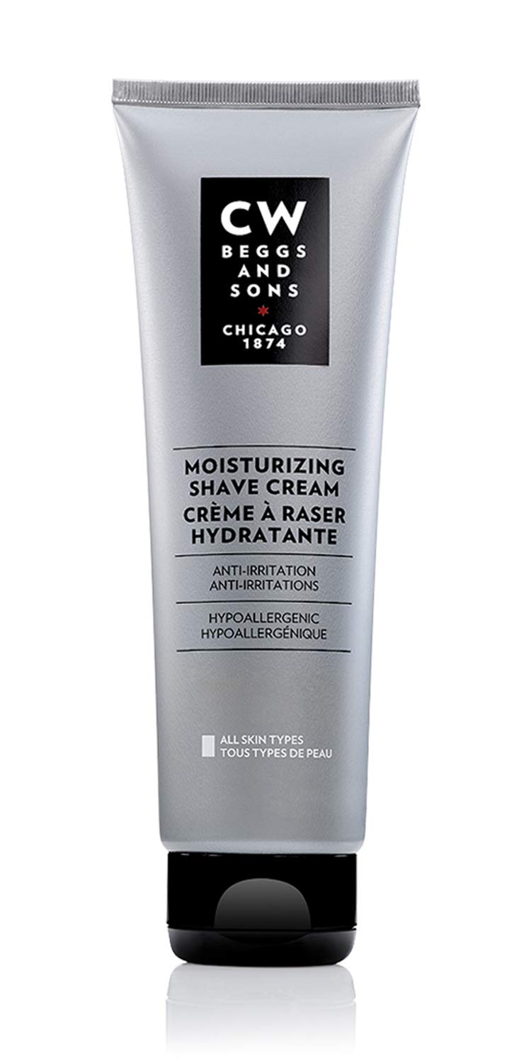 CW Beggs and Sons Moisturizing Shave Cream for Men