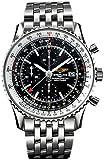 Breitling Men's A2432212/B726 Navitimer World Analog Selfwinding mechanical Watch