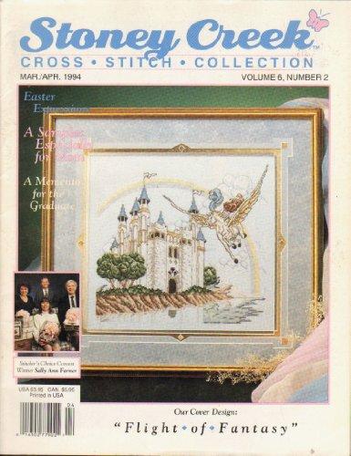 (Stoney Creek Magazine - Cross Stitch Collection (Ocean Fansasy) - Mar./Apr. 1994 - Vol. 6 #2)
