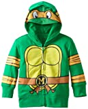 Nickelodeon Toddler Boys' Teenage Mutant Ninja Turtles Costume Hoodie, Green, 3T