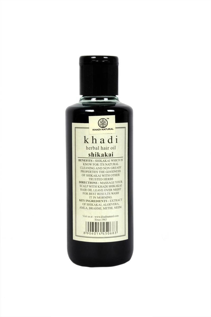 Buy Khadi Shikakai Oil, 210ml Online at Low Prices in India - Amazon.in