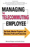 Managing the Telecommuting Employee, Michael Amigoni and Sandra Gurvis, 1598698877