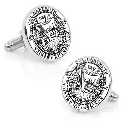 Cufflinks Officially Licensed NCAA Mens Dartmouth College Colligiate by Cufflinks