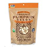 CB's Nuts Organic Pumpkin Seeds, 4 Ounce - Best Reviews Guide
