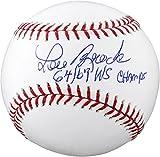 Lou Brock St. Louis Cardinals Autographed Baseball with 64 & 67 WS Champs Inscription - Fanatics Authentic Certified