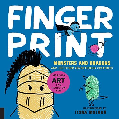 100 Other Adventurous Creatures (Fingerprint Art)
