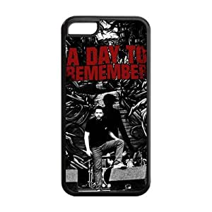 Merry Christmas Popular Rock Band ADTR A Day To Remember Silicon iPhone 5C Case, Best Durable A Day To Remember iPhone 5C Case