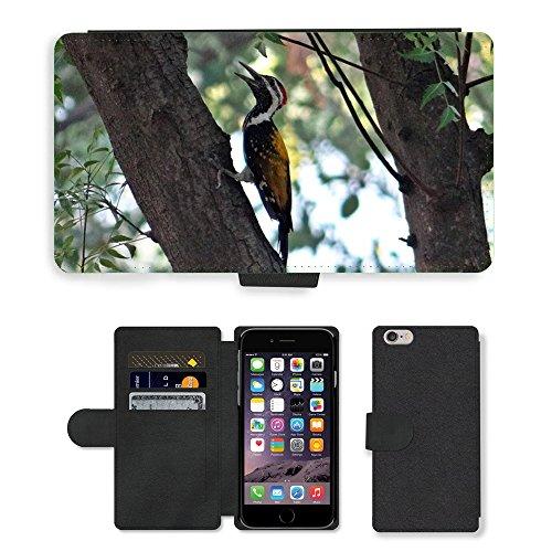 """Just Phone Cases PU Leather Flip Custodia Protettiva Case Cover per // M00128013 Pic du Bengale // Apple iPhone 6 PLUS 5.5"""""""