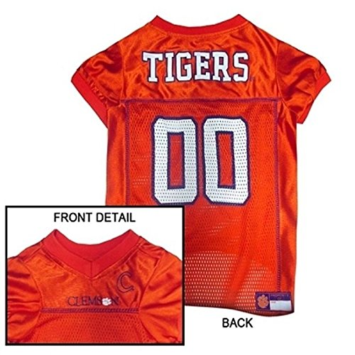 Clemson Tigers Dog Jersey - CLEMSON TIGERS Dog Jersey ALL SIZES Licensed NCAA (XS)