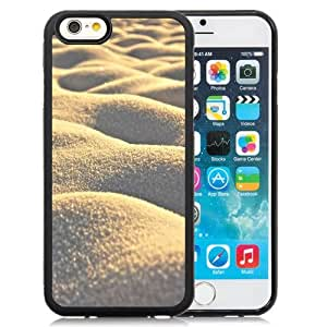 NEW Unique Custom Designed iPhone 6 4.7 Inch TPU Phone Case With Sand Dunes Close Up_Black Phone Case