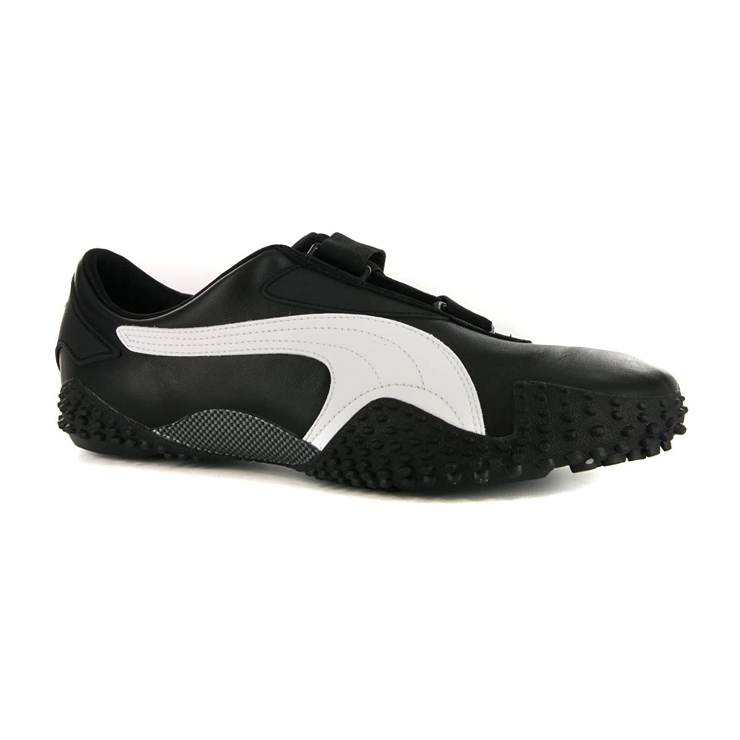 Mens Puma Mostro Leather Black White Trainers UK 9: Amazon.co.uk: Shoes &  Bags