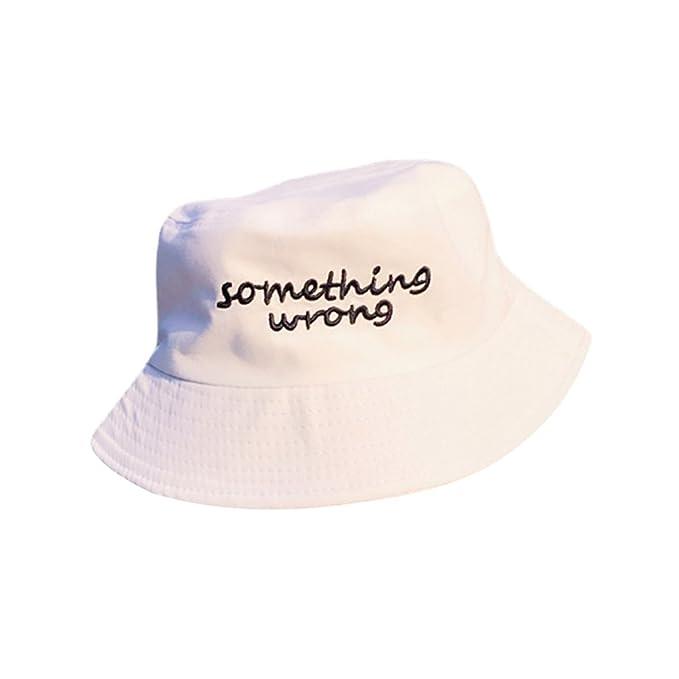 LINNUO Cappelli alla Pescatora Hats Bucket Ciclismo cap Estivo Cappello da  Spiaggia con Ricamo Berretto Uomo 6c2ac1ab7f52
