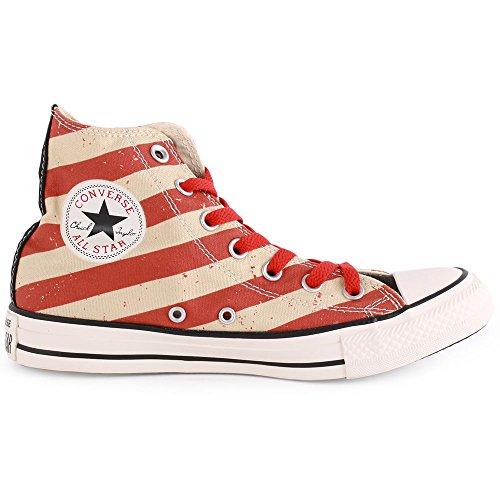 Unisex All Star 39 Black Brick Schuhe fire High Chuck Converse Sneaker Taylor 6qEOxvT