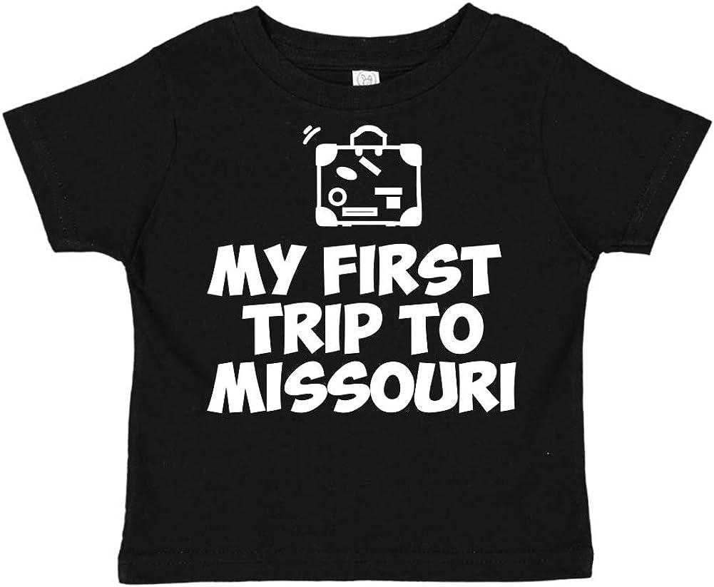 My First Trip to Missouri Toddler//Kids Short Sleeve T-Shirt