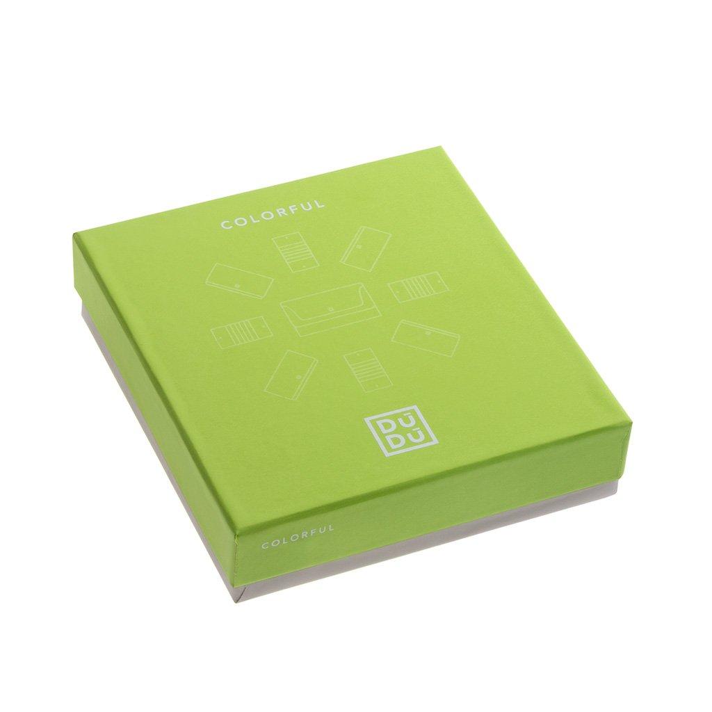 49c9563a88 DUDU Portafoglio Magico uomo in Pelle Nappa Magic Wallet colorato  Multicolor con 6 tasche Porta Carte di credito Woods: Amazon.it: Valigeria