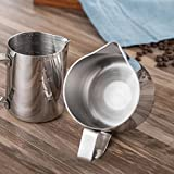 Milk Frothing Pitcher, CHANMOL Stainless Steel