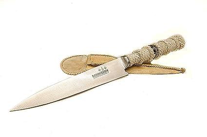 Amazon.com: Mano Trenzada cuchillo Gaucho Argentino cuchillo ...