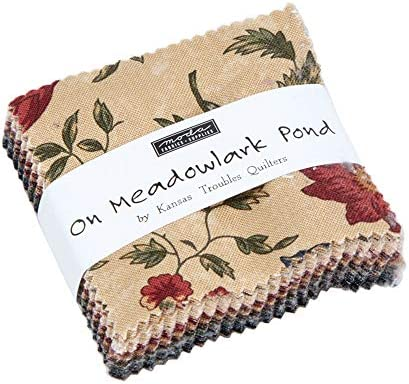 Moda Fabric On Meadowlark Pond Mini Charm - Sold Per 1/4 Metre (Long Quarter): Amazon.es: Hogar