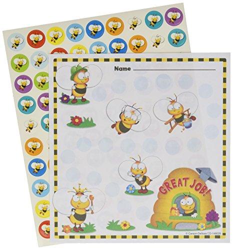 Carson Dellosa Buzz-Worthy Bees Mini Incentive Charts (148026) ()