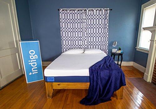 Indigo Sleep Classic King Mattress  Supportive Cool Gel Memory Foam...