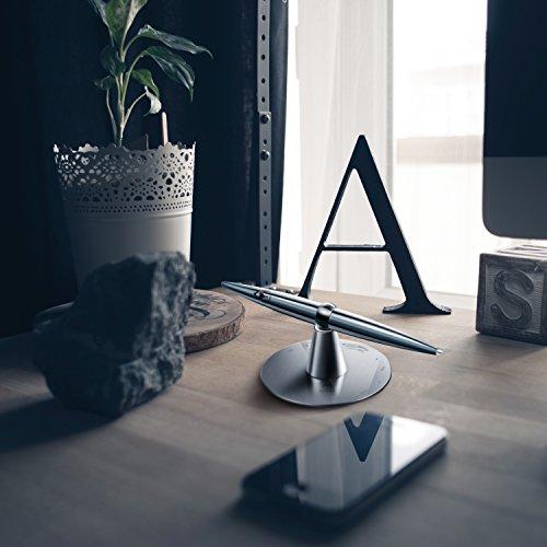 Amoner Decision Maker Pen Set for Office Desk (Silver)