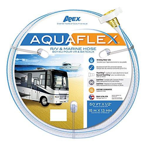 (Teknor Apex 8503-25 AquaFlex RV/Marine Hose - 5/8