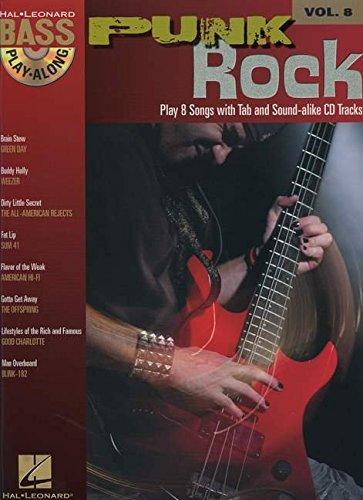 Punk Rock: Bass Play-Along Volume 8