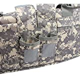 Mlida Rifle Bag Outdoor Tactical Carbine Cases Long Gun Case Bag for Hunting Shooting Range Sports Storage and Transport