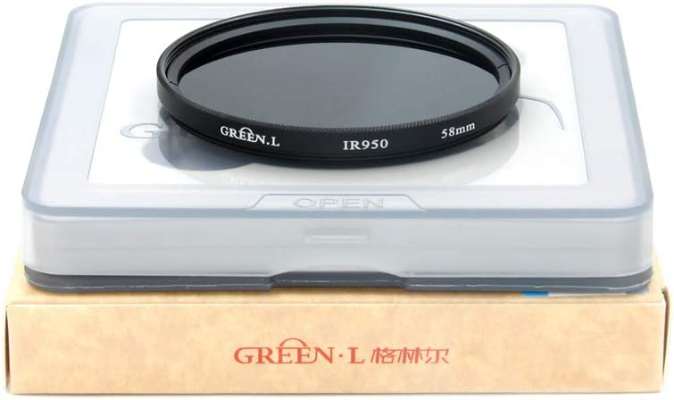 GREEN.L 62mm IR 850 Infrared 850nm X-Ray IR Glass Filter