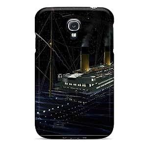 New Arrival Galaxy S4 Case Titanic Flare Case Cover