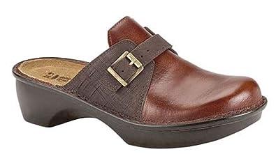 36f2f1ed8f6b NAOT Footwear Women s AvignonLuggage Brown Lthr Mine Brown Lthr Clog 35 ...