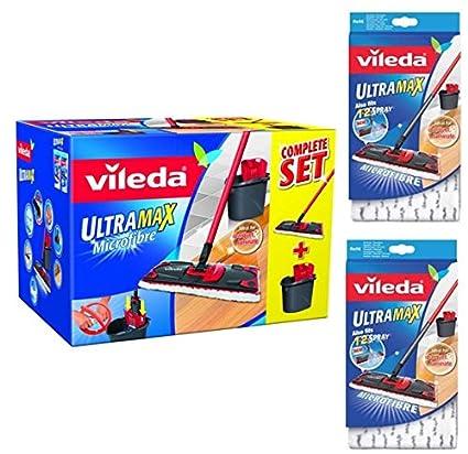Pack completo Vileda, Vileda Ultramax + 2 Stück Wischbezug