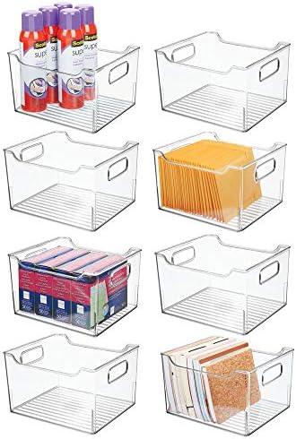 mDesign Plastic Storage Container Organizer product image