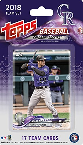 681632f4c Colorado Rockies 2018 Topps Factory Sealed Special Edition 17 Card Team Set  with Nolan Arenado and