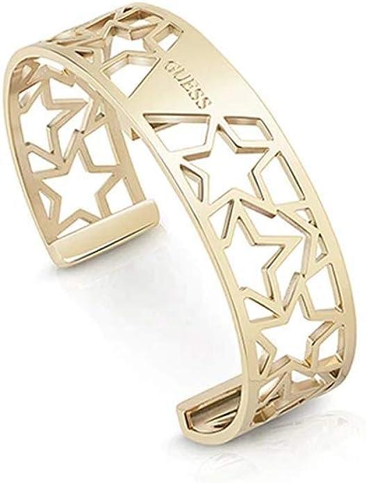 GUESS Damen Armband Armreif Metall Schmuck Silber UBB10905