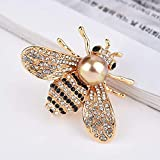 Honey Bee Brooches Crystal Insect Themed Bee Brooch